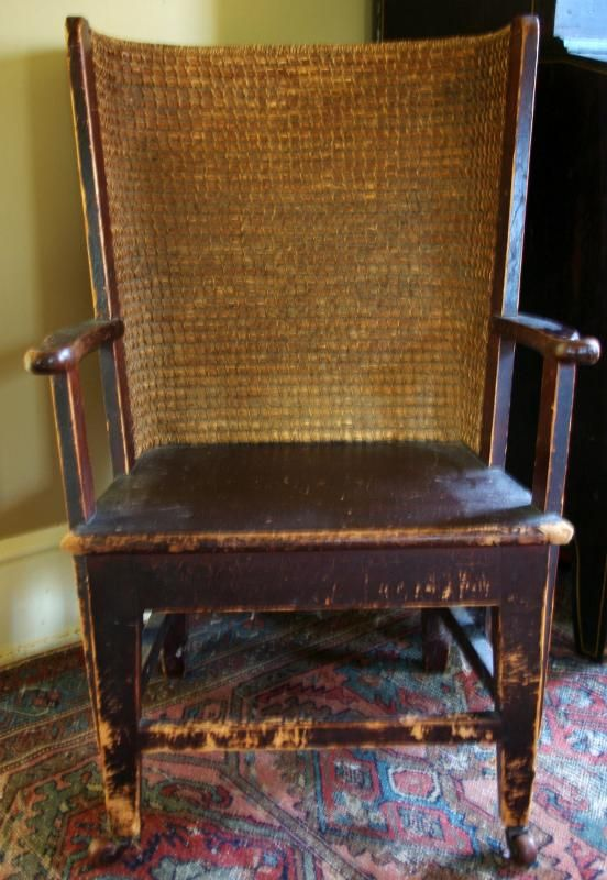 Very Rare And Hard To Find Late or Early Century Westray Orkney Island Ladies  Chair w/Original Straw Woven Back - 25 Best Chairs Images On Pinterest Antique Furniture, Orkney