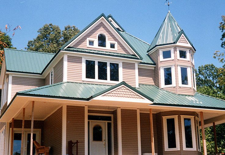 Metal roofing photo gallery metal roofing alliance for Porch roof types