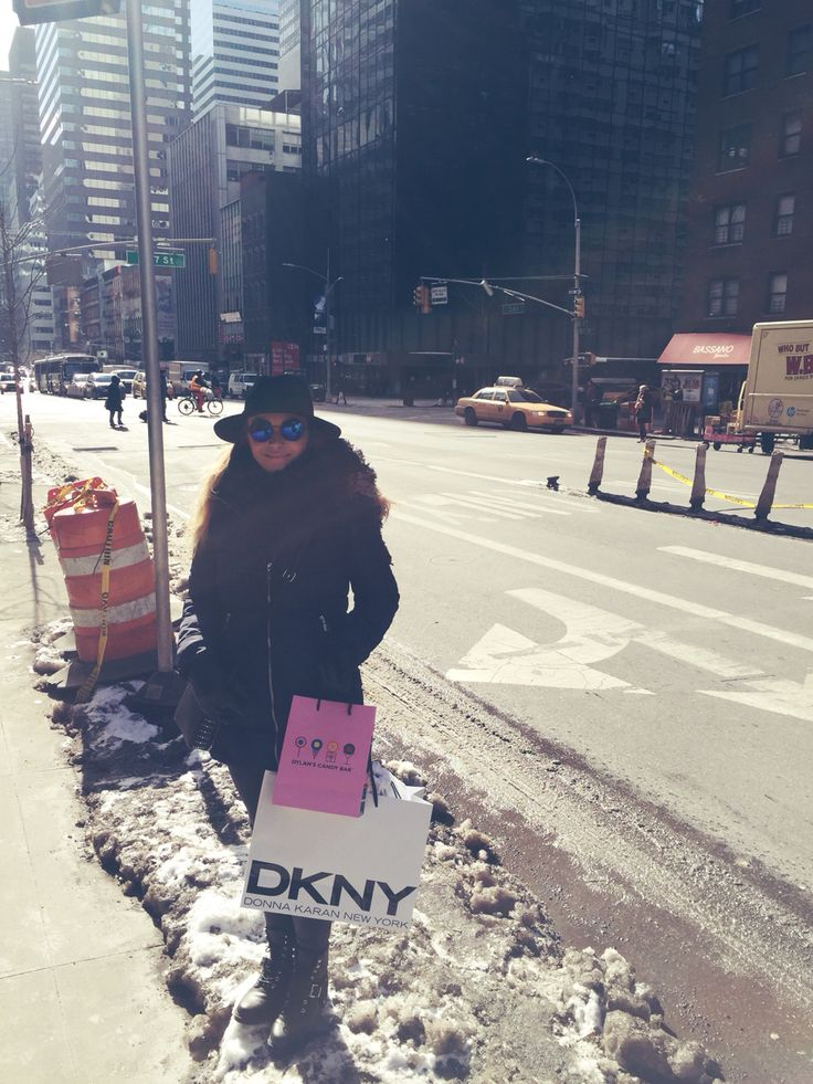 Shopping on fifth! #shopping #dkny #fashion #winter #style