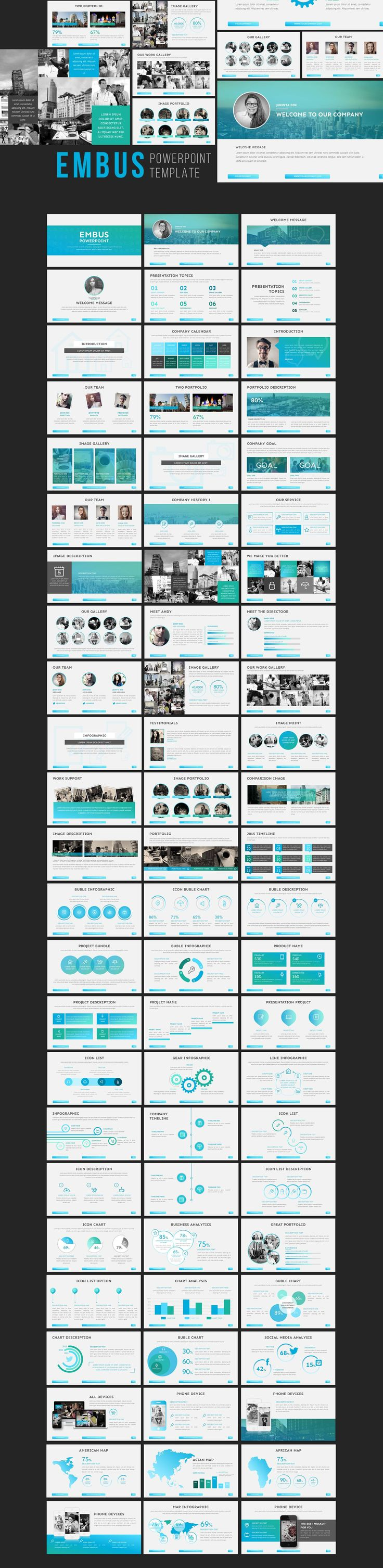 Embuss - PowerPoint Template