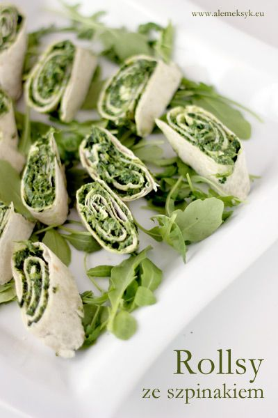 ROLLS WITH SPINACH AND TORTILLA
