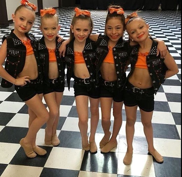 These are the minis from the Abby Lee dance company