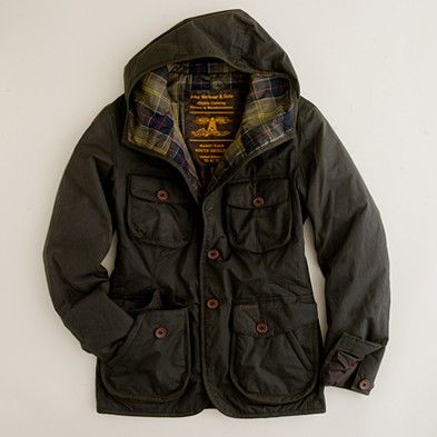 Barbour by To Ki To hooded hunter jacket