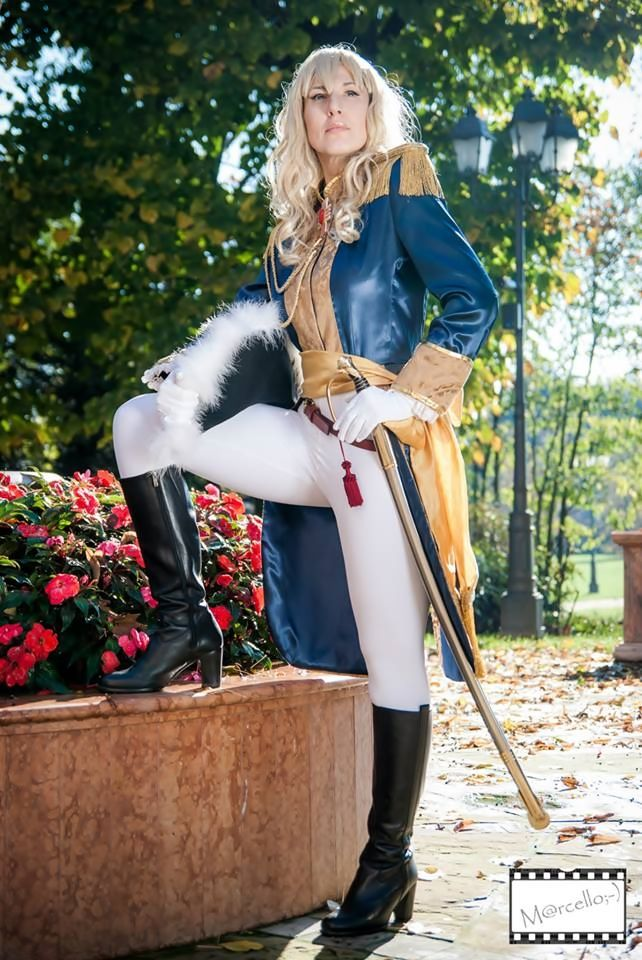 Lady Oscar (proud Commander) by KurimiMami.deviantart.com on @deviantART