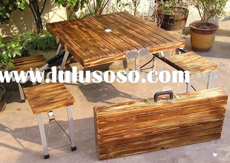 F7302 Folding picnic table set,camping table,beer table