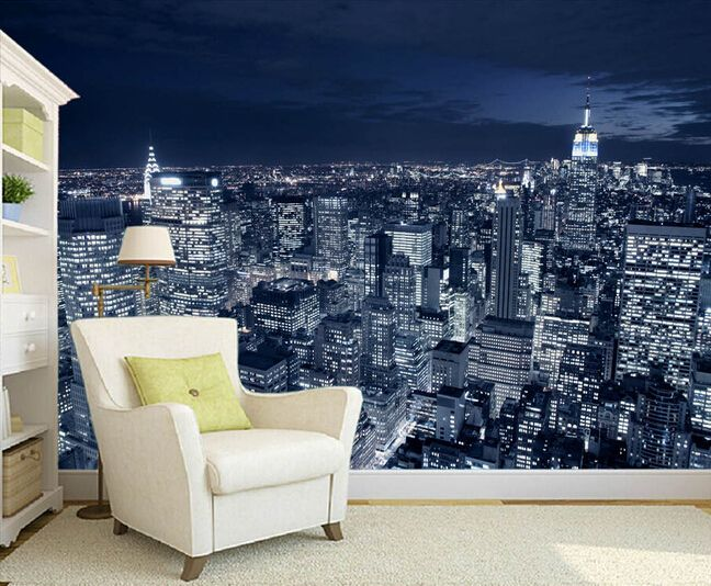 Cheap wallpaper halloween, Buy Quality wallpaper kiss directly from China photo accessory Suppliers: Custom photo wallpaper,black and white New York city night scene for the living room bedroom TV background wall papel de parede