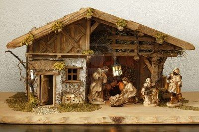 how to make a nativity scene out of wood - Google Search