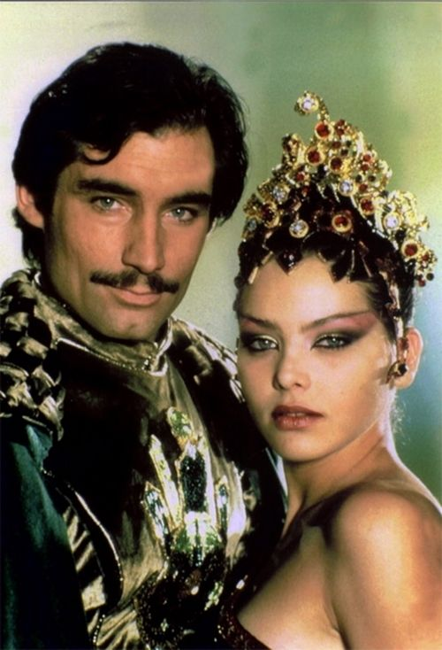Flash Gordon (1980) TimothyDalton and Ornella Mutti