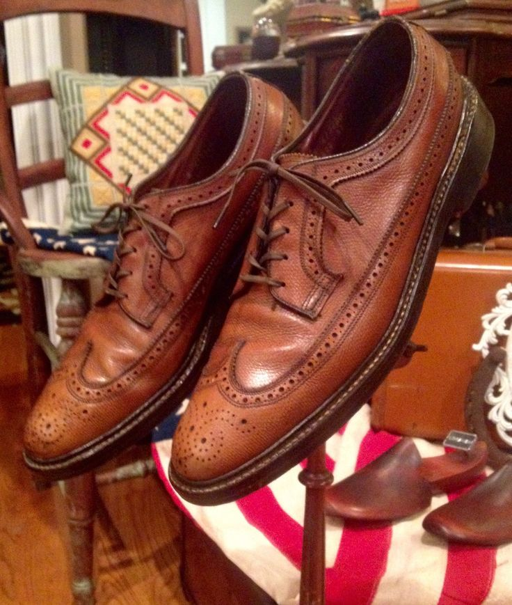 A personal favorite from my Etsy shop https://www.etsy.com/listing/264890965/vintage-60s-florsheim-imperial-wingtip-v