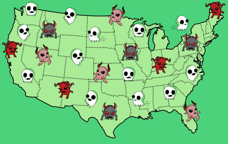Here Is The Scariest Urban Legend From EveryState