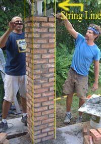 brick pillar fence design - Recherche Google