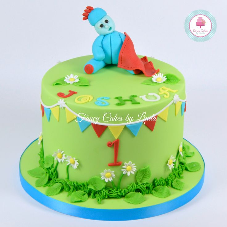 Iggle Piggle Night Garden Themed Birthday Cake 07917815712 www.facebook.com/fancycakeslinda www.fancycakesbylinda.co.uk