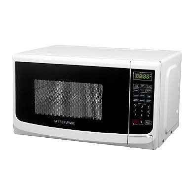 Farberware® Classic 0.7 Cubic Foot Microwave Oven in Black