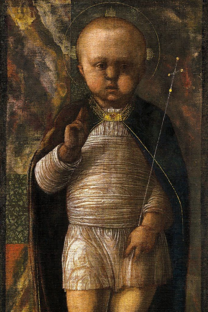 The Infant Savior II, by Andrea Mantegna
