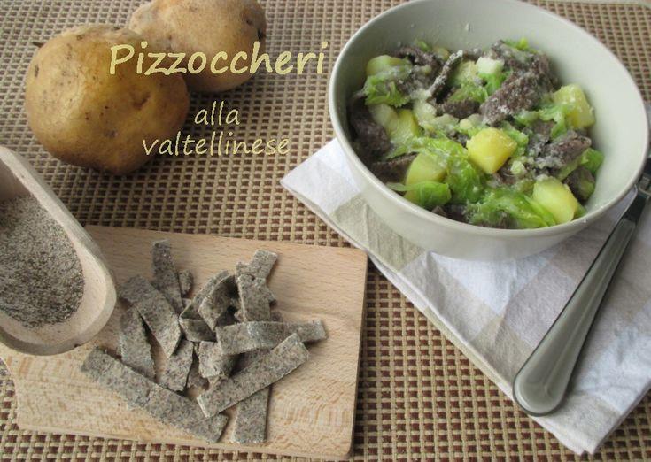 Pizzoccheri+alla+valtellinese,+ricetta+con+foto