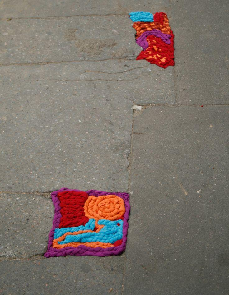 avenue paementier3 | Flickr  juliana santacruz herrera http://restreet.altervista.org/juliana-santacruz-herrera-restaura-le-strade-con-i-fili-colorati/