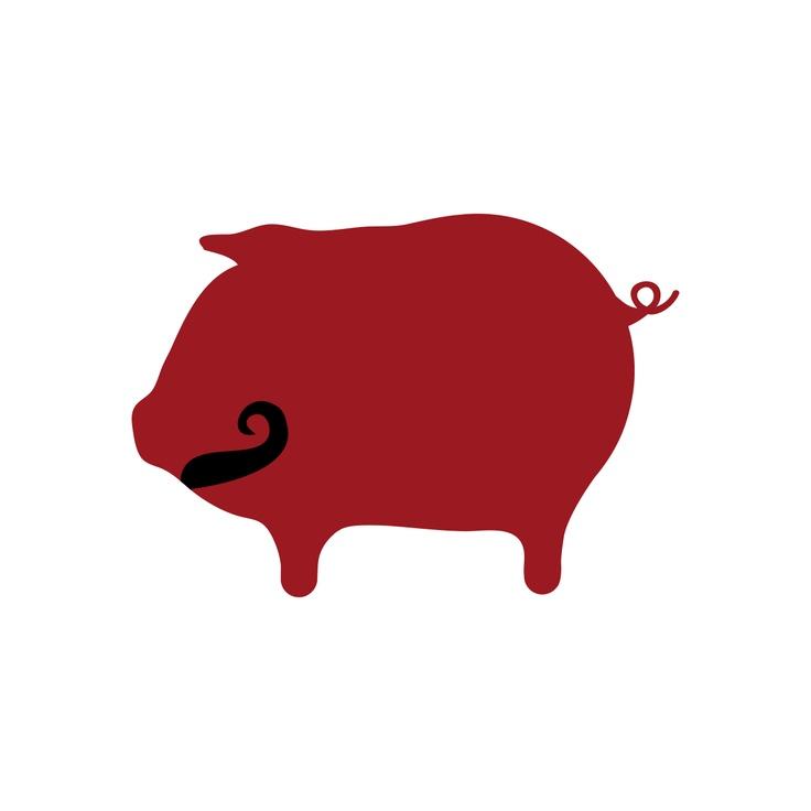 Big Pig Logo Movember | Design Work | Pinterest | Logos