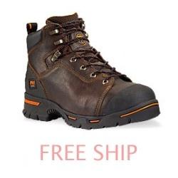 Price: $106.75 Timberland Pro 52562 Endurance Steel Toe Briar Full-Grain Boots