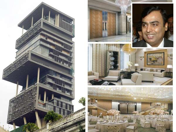 Mukesh ambani mumbai india worlds most expensive for Top ten home builders