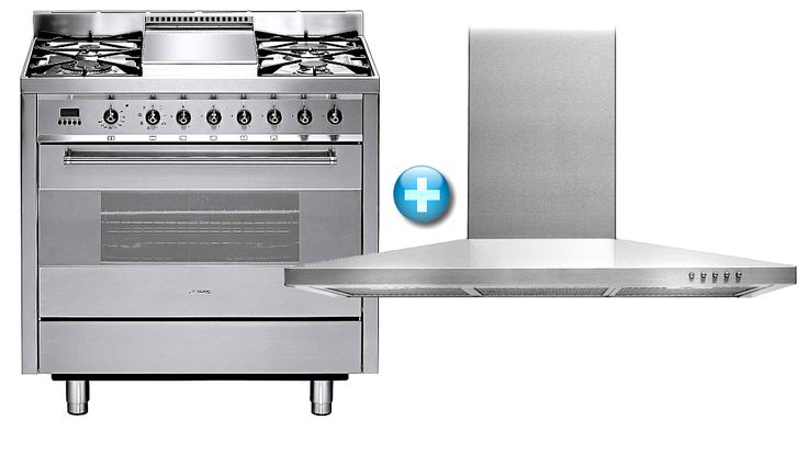 Smeg Freestanding Cooking Package | Domayne