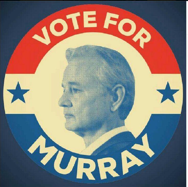 L'acteur Bill Murray annonce qu'il sera candidat à la présidence des Etats-Unis en 2016 — RT en français