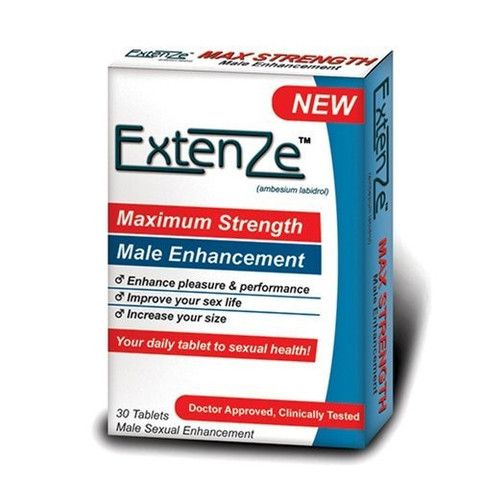 EXTENZE MALE ENHANCEMENT - 30 COUNT BOX $39.00 http://bad-honey.myshopify.com/products/extenze-male-enhancement-30-count-box