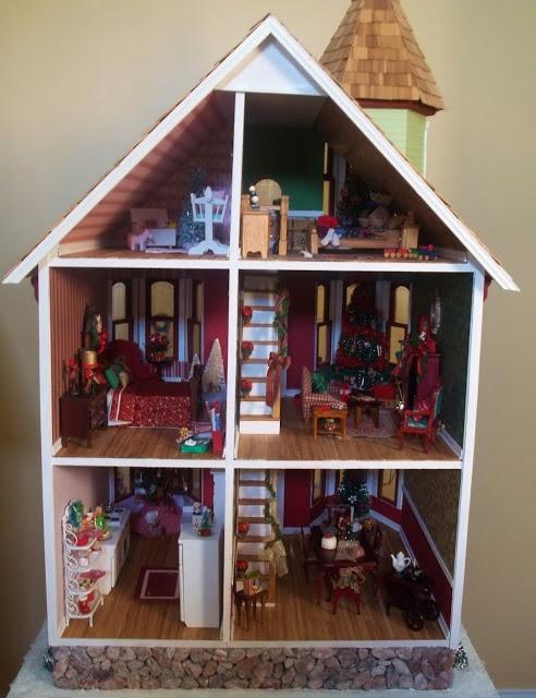 Dolls House Xmas Decorations