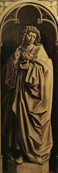 Jan van Eyck 1390 – 1441  John the Evangelist