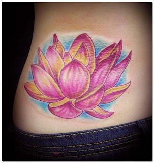 tatto: japanese lotus tattoos