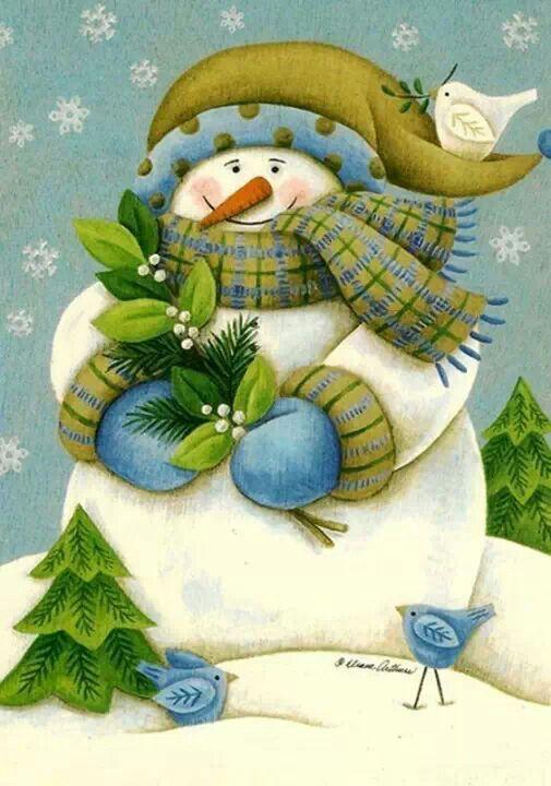 Scottish Snowman
