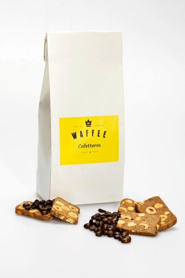 Capsule, biscotti, cioccolato, tagliatelle ma anche accessori e prodotti wellness a base di caffè acquistabili online su Waffee lo shop online dedicato al caffè.