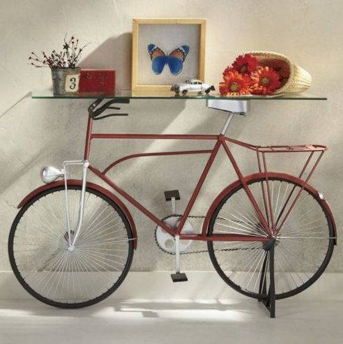 Springpad: Vintage Bike Table Fro.