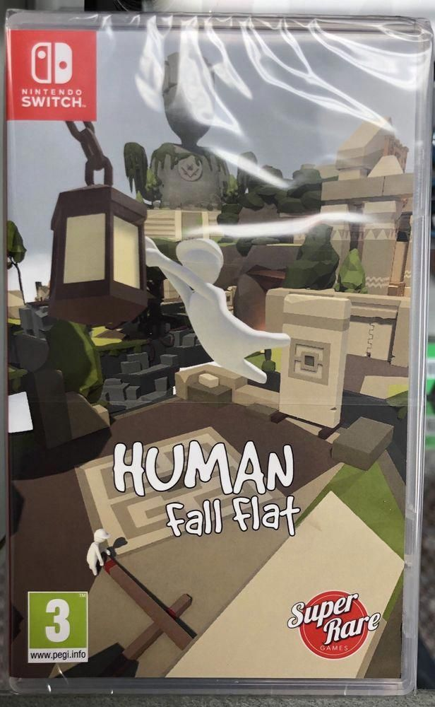 Human Fall Flat Nintendo Switch Sealed Super Rare Games Only