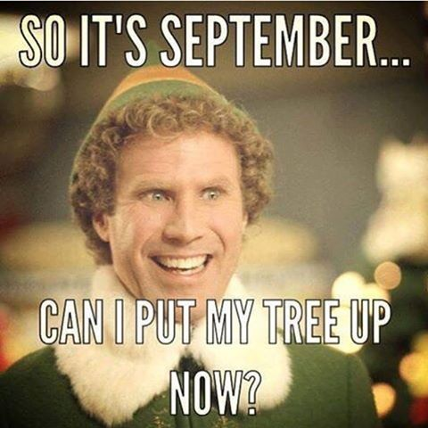 Just sayin.. exactly how I feel #114days until #Christmas!! And welcome to the BER months ☺️☺️