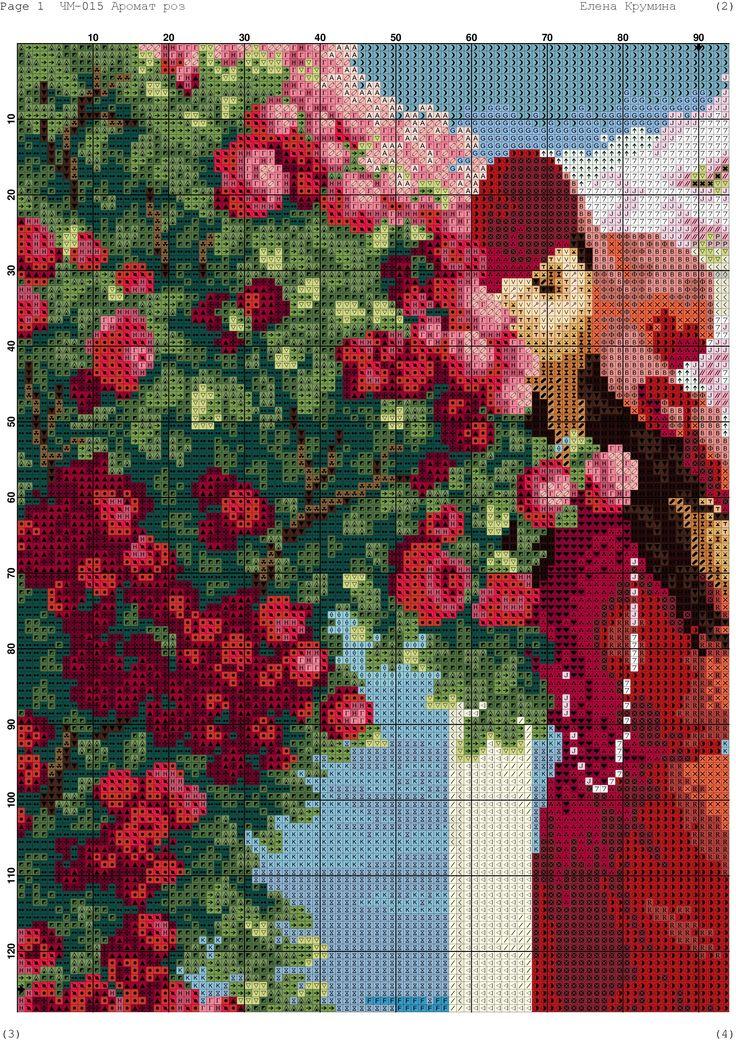 #Woman in red #Dalmatian #Roses