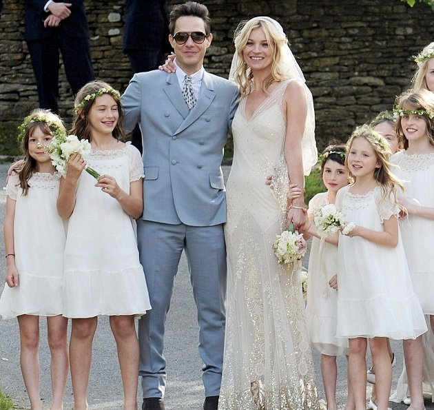 Kate Moss´ wedding