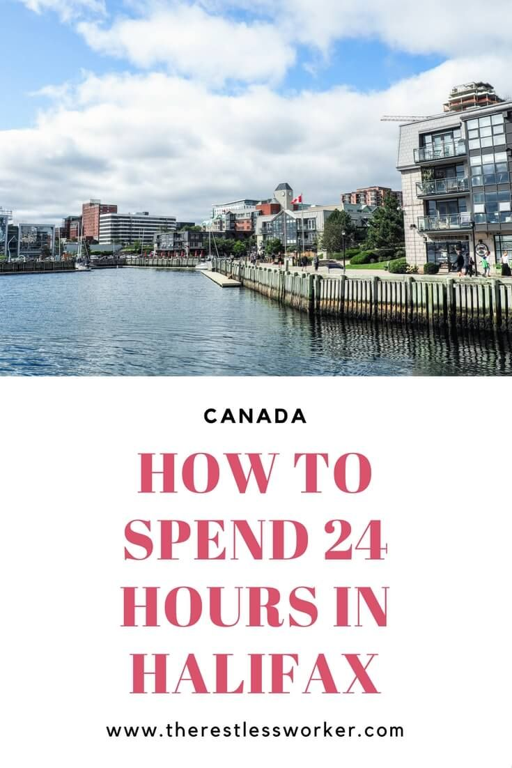how to spend 24 hours in halifax