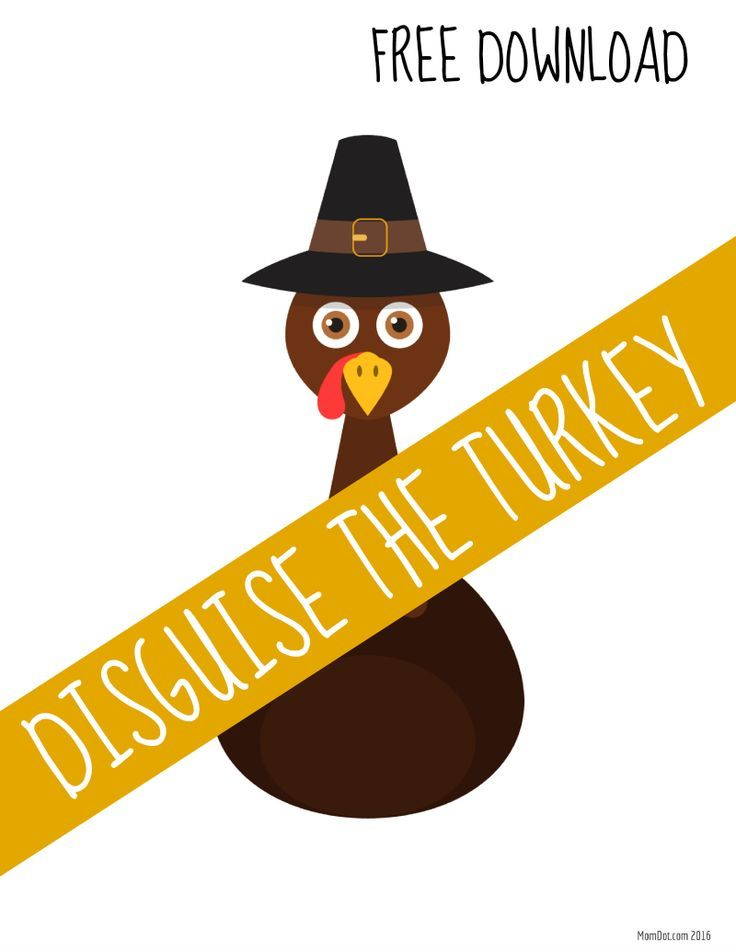 Turkey In Disguise Free Printable Template Turkey Disguise Turkey Disguise Project Turkey Project