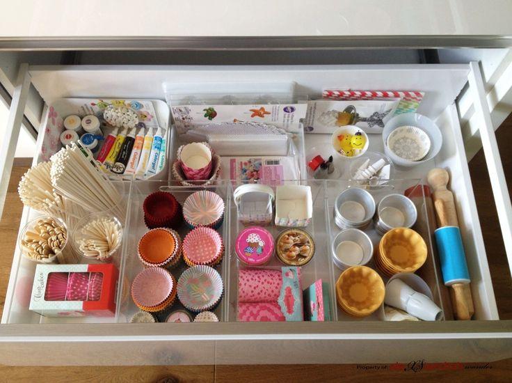 Ideas para organizar los utensilios para cocinar cupcakes ...