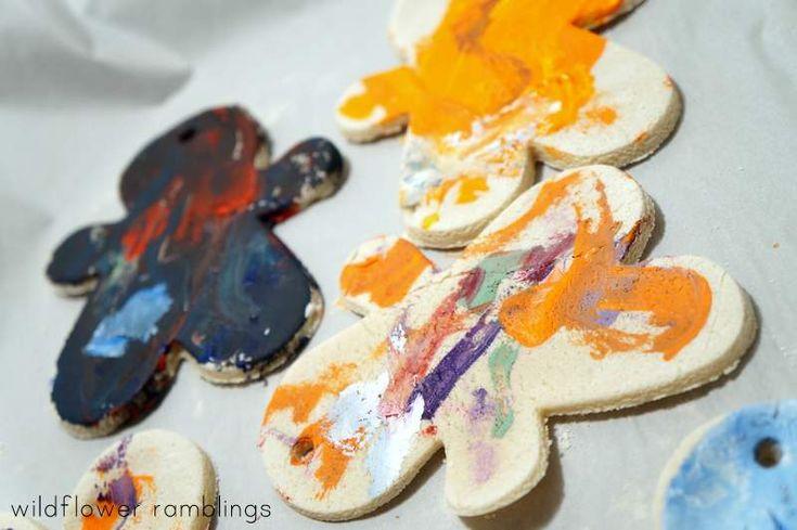 perfect holiday activity -- best salt dough recipe -- wildflower ramblings