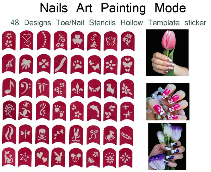 241 best nails images on pinterest cute nails nail design and find more stickers decals information about 48 designs nail art painting prinsesfo Images