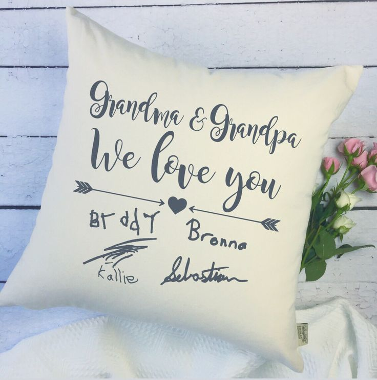 A personal favorite from my Etsy shop https://www.etsy.com/ca/listing/487680298/gift-for-grandparents-personalized