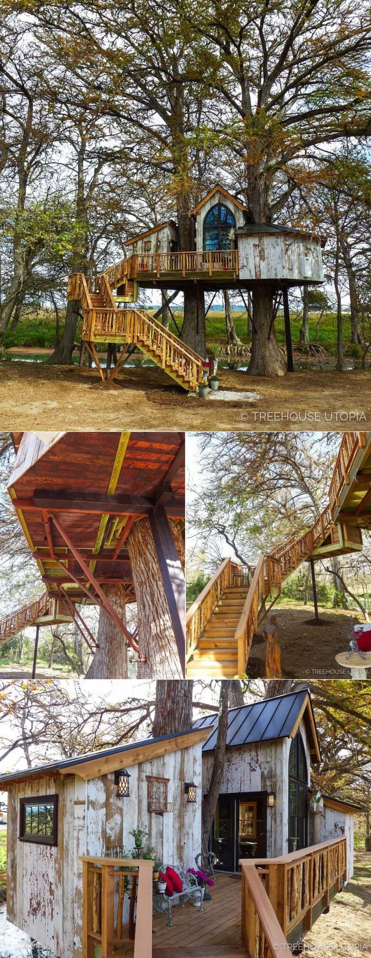 Treehouse Utopia Pete Nelson's Vacation Retreat for