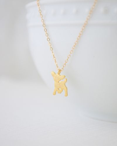 Baby Fawn Necklace