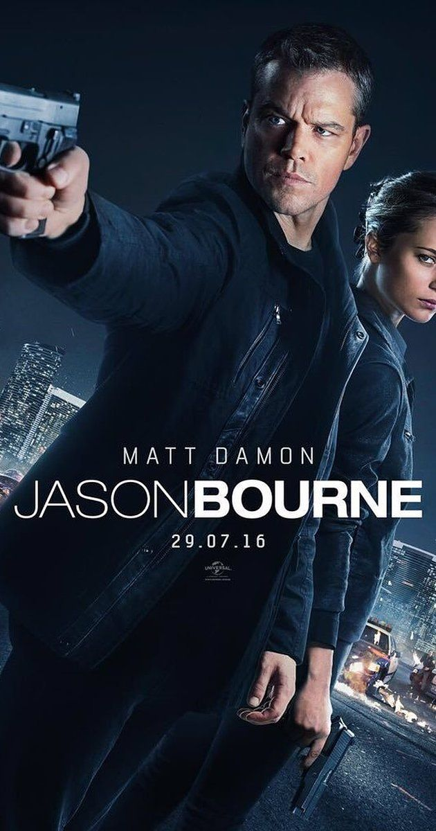 Jason Bourne : The CIA's most dangerous former operative is drawn out of hiding to uncover more explosive truths about his past.