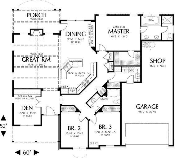 Astounding 17 Best Ideas About Home Plans On Pinterest Home Floor Plans Largest Home Design Picture Inspirations Pitcheantrous