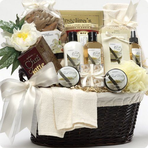   gift baskets for women pamper her at home with these spa gift baskets ...
