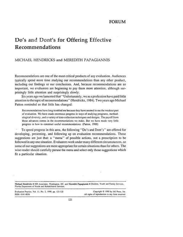 50 best Translating Evaluation Findings Into Action images on - sample evaluation report