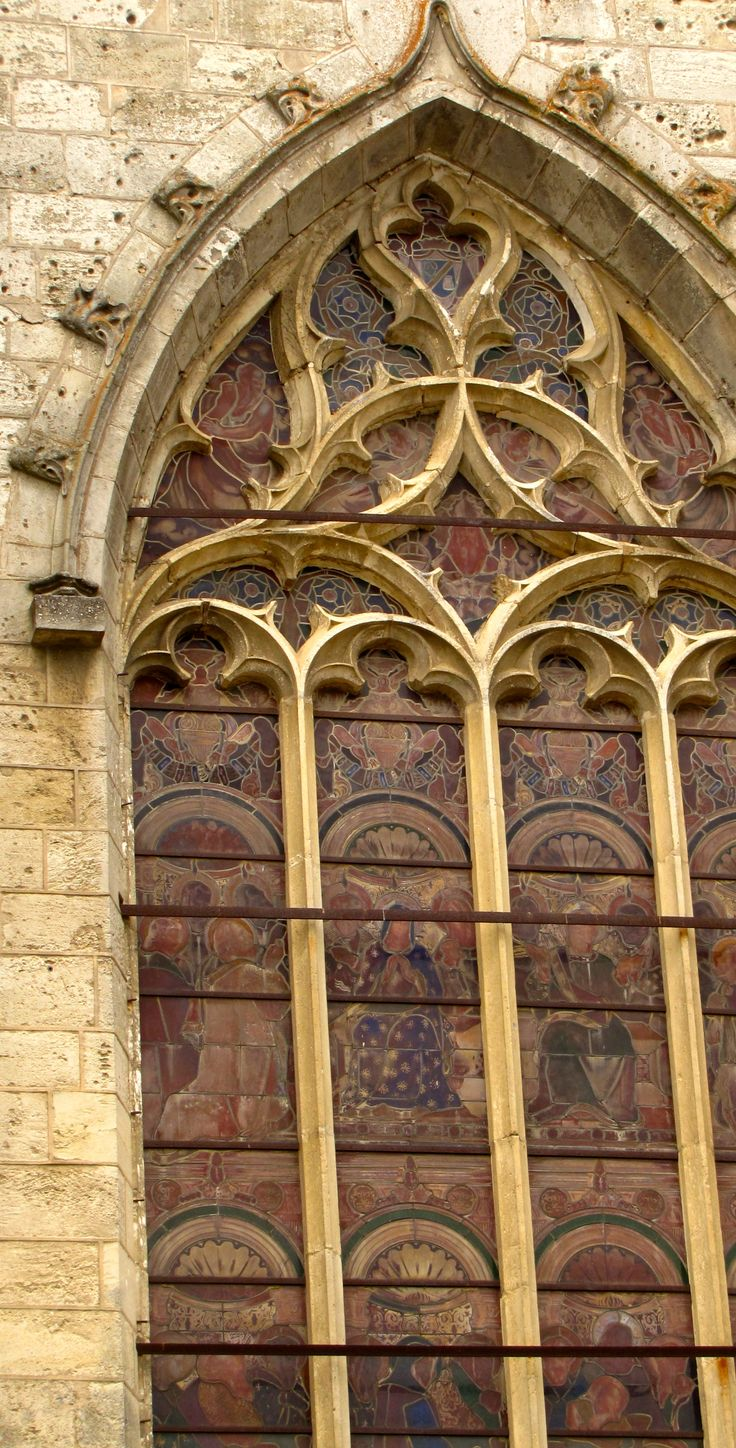 stained glass window http://gretatheron.wix.com/french-escapades