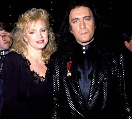 Gene Simmons and Shannon Tweed in 1989